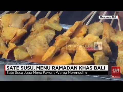 Video Sate Susu, Menu Ramadan Khas Bali