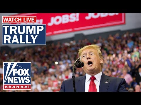 Trump holds 'Keep America Great' rally in New Hampshire
