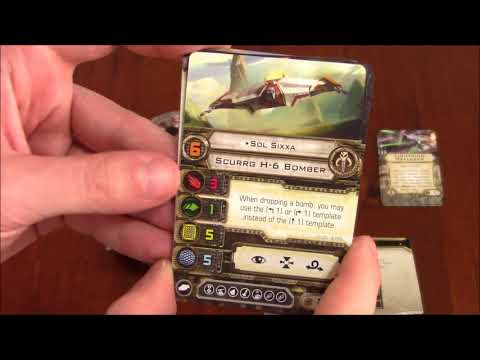 DGA Plays: Star Wars: X-Wing - Scurrg H-6 Bomber Expansion (Ep. 179 - Gameplay / Let's Play)