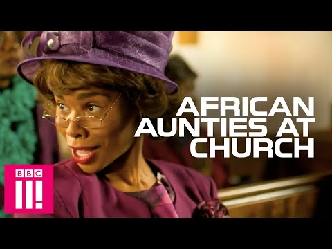 When Church Is A Competition: African Aunties | Famalam