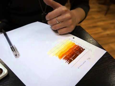 Алиша рисует таблицу Фона Осветления