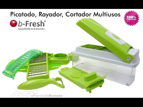 Ayudante de cocina Easy Slicer Picador Cortador Verduras Multiuso - aPreciosdeRemate