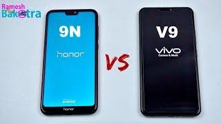 Honor 9N vs Vivo V9 Speed and Camera Compare