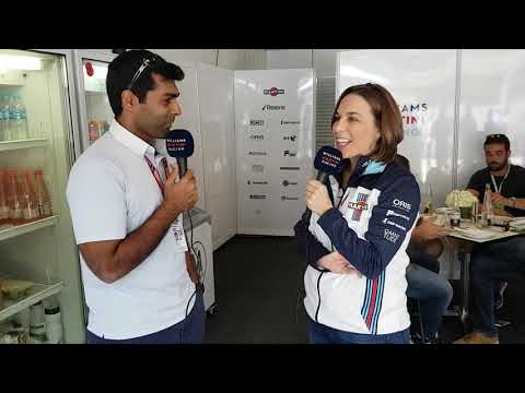 Karun Chandhok is joined by Claire, Lance & Sergey for Williams TV from Interlagos