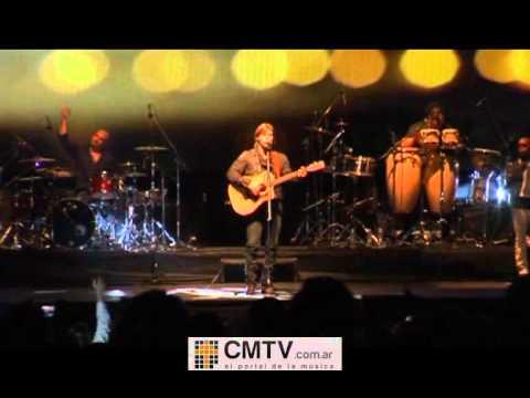 Carlos Baute video Tú no sabes que tanto - Córdoba 30-10-2011
