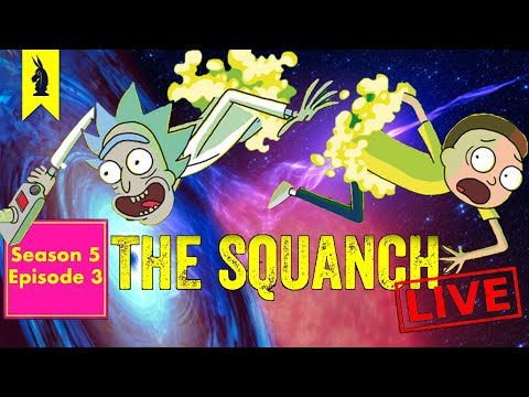 """Love in the Time of Climate Change """"A Rickconvenient Mort"""" (S05E03) - The Squanch"""