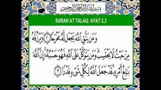 Gambar cover Ayat 1000 Dinar Surah AT TALAQ  2 3