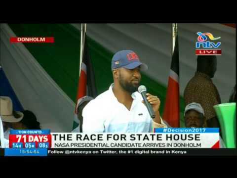 Governor Hassan Joho calls out the government for the high cost of living