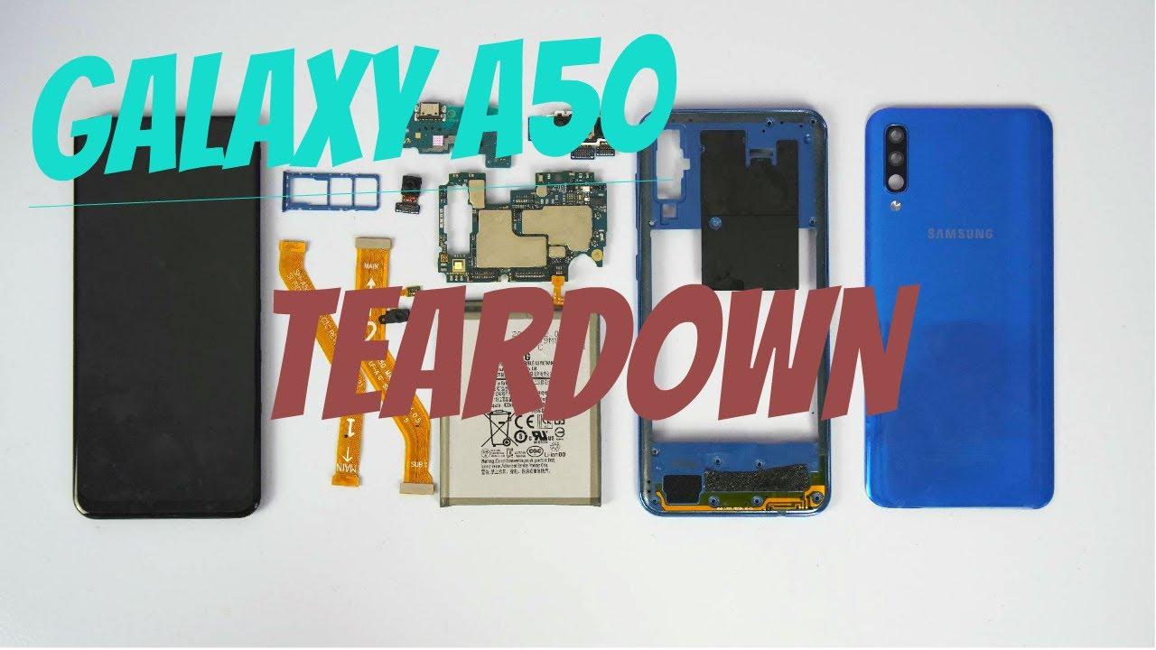 Mổ bụng khám phá Galaxy A50 - Teardown Galaxy A50