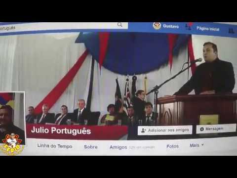 Vereador Júlio Português bate boca nas redes Sociais com o Chefe de Gabinete Kena do Prefeito Ayres Scorsatto