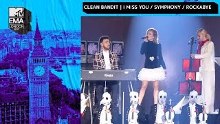 Playing drums for Clean Bandit @ MTV EMA's!