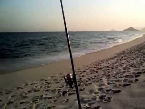 Pescaria Barra da Tijuca - Praia -  PESCAS & DICAS (PGM 06)