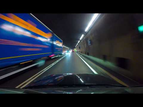 The longest Road Tunnel in the Alps Gotthard 4K #thelongestroadtunnelinthealps#