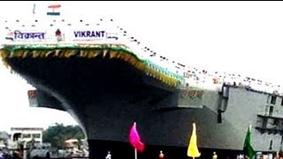The making of India's indigenous aircraft carrier -- INS Vikrant
