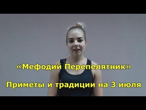 Народный праздник «Мефодий Перепелятник». Приметы на 3 июля.