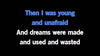 I Dreamed A Dream - Movie Version Karaoke - Les Mis - Hathaway