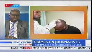 Kenyan journalists mark the International Day to end impunity for crimes against journalists