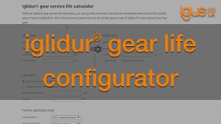 Gear lifetime configurator