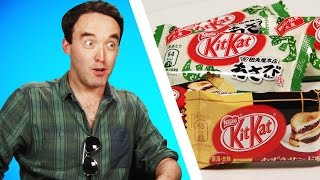 Irish People Taste Test Japanese Kit Kats