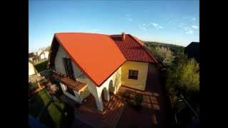 preview picture of video 'Widok z lotu motyla,  Quadrocpoter na  DJI , Gopro I , Proszowice'