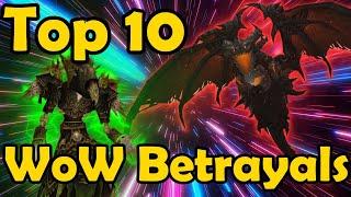 Top 10 Betrayals in Warcraft Lore