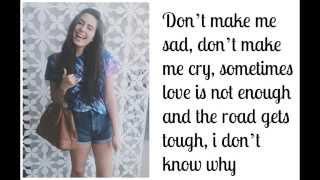 """""""Born to Die"""" - Lauren Cimorelli (Cover - Lyrics)"""