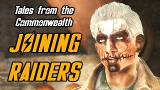 Fallout 4 JOINING RAIDERS! - Radio Raiders Quest - Tales from the Commonwealth