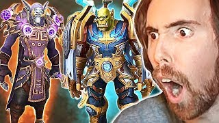 Asmongold Hosts FIRST EU HORDE Transmog Competition | The Most Incredible Sets EVER