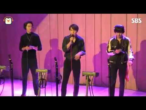 [SBS]두시탈출컬투쇼, 사랑빛, 씨엔블루 라이브