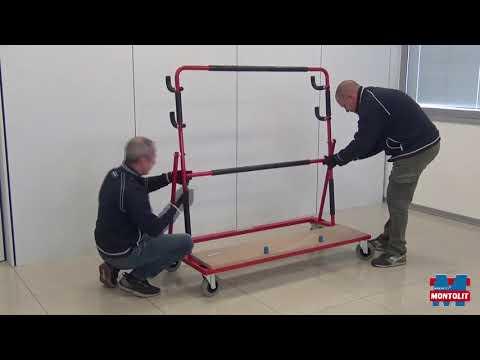 Тележка для крупноформатных плит GOAL EVO