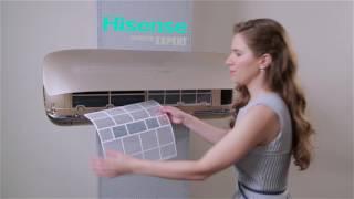 Кондиционер HISENSE AS-10UR4SVPSC5 от компании F-Mart - видео