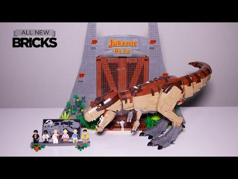 Vidéo LEGO Jurassic World 75936 : Jurassic Park : le carnage du T. rex