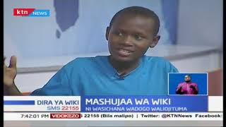 Mashujaa wa Wiki: Kilio cha mtahiniwa