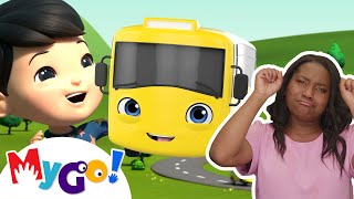 Wheels On The Bus | +More Baby Songs | ASL - American Sign Language | Little Baby Bum