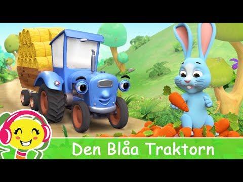 Den Blåa Traktorn 🚜 Barnsånger SvenskaBarnMusikTV