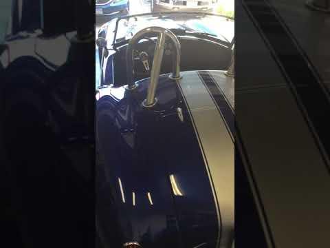Video of '65 Cobra Replica - R28V