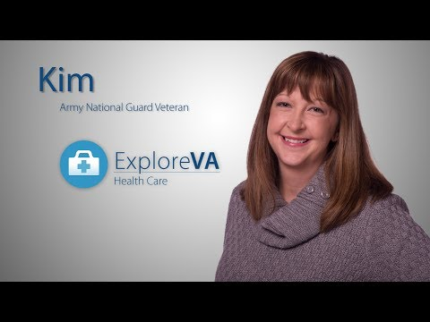 Kim is among the hundreds of thousands of women Veterans benefiting from VA health care.