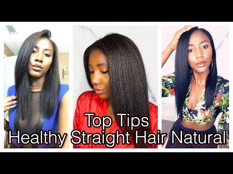 How To Maintain Healthy Type 4 Natural Hair | Straight Hair Natural Tips | Simply Subrena