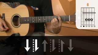 Chove, Chove - Jorge e Mateus (aula de violão simplificada)