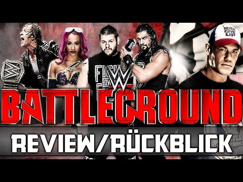 WWE Battleground 2016 - PPV Review/Rückblick - Sehenswert! (Deutsch/German)