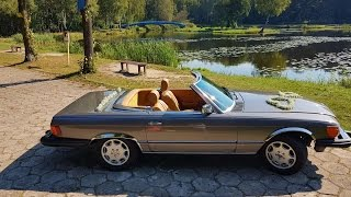 www.udanewesela.pl Mercedes SL 380 do ślubu, na wesele