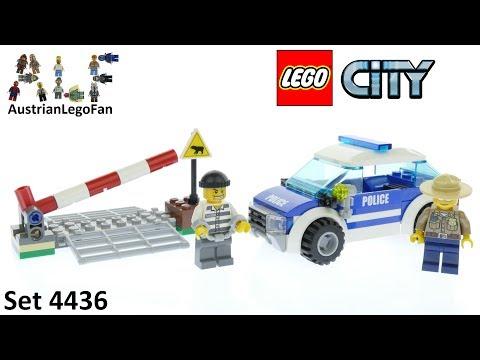 Vidéo LEGO City 4436 : La voiture de patrouille en forêt