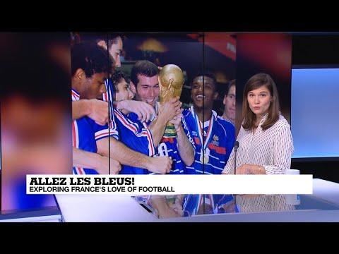 Allez les Bleus! Exploring France's love of football