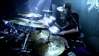 """Nils """"Dominator"""" Fjellström - Dark Funeral - The Dawn No More Rises (Drumcam)"""