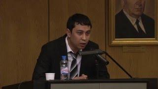 Защита диссертации Исмаилбаев А. М.