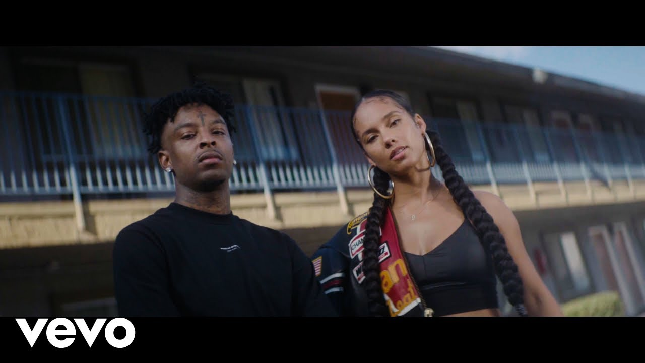 Alicia Keys - Show Me Love (Remix) Ft. 21 Savage, Miguel (Official Music Video)