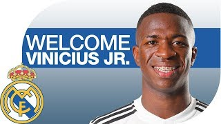 Vinicius Jr. | NEW REAL MADRID PLAYER