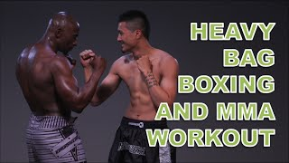 Heavy Bag Boxing Workout (Cardio and Endurance) by Funk Roberts