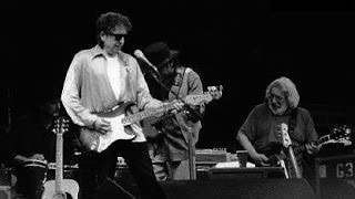 Bob Dylan & Jerry Garcia's final performance together
