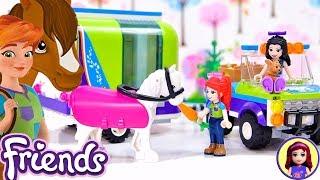 Lego Friends Mias Horse Trailer Set - Speed Build